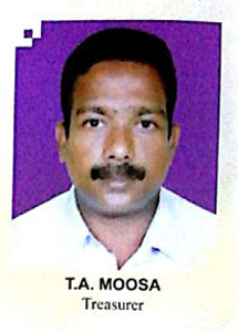 TA Moosa Treasurer